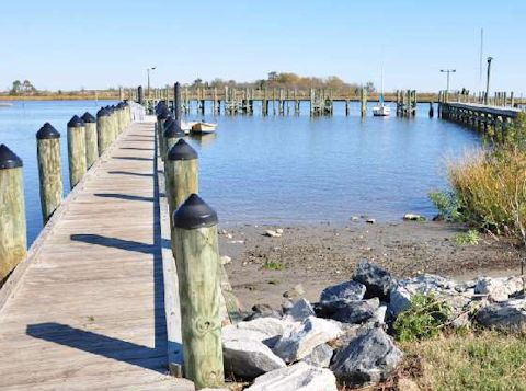 Located in Poquoson VA, Night Stalker Guide Service launches from Messick Public Boat Ramp